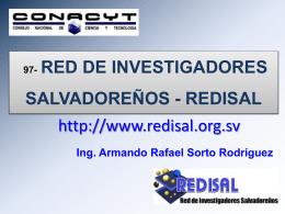 97- RED DE INVESTIGADORES SALVADOREÑOS