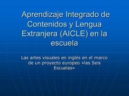 L`enseignement d`une matière par l`intégration d`une langue