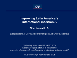 1980´s - Inter-American Development Bank