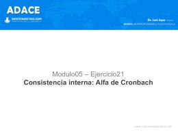 Alfa de Cronbach - Bioestadistico.com