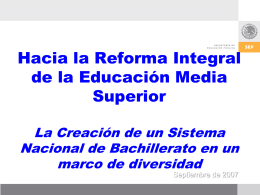 Competencias - Dirección General de Telebachillerato Supervisión