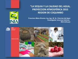 Agua-y-clima2015 - Junta Vigilancia Río Choapa