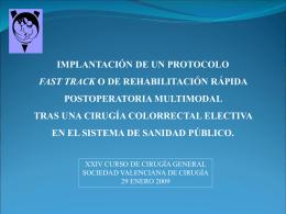 Diapositiva 1 - Sociedad Valenciana de Cirugía