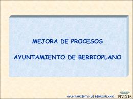 Presentación: Ayuntamiento Berrioplano