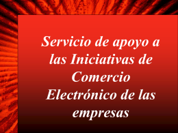 successful services exporting - Cámara Nacional de Comercio y