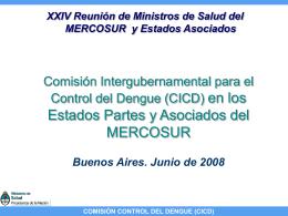comisión control del dengue (cicd)
