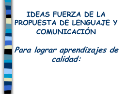 Ideas fuerzas