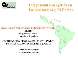 Integración Energética ALC