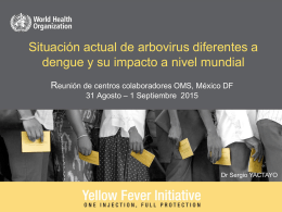 08. Arbovirus y impacto a nivel mundial S Yactayo