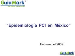 Epidemiología PCI en México