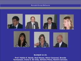 Concejales - Honorable Concejo Deliberante de Coronel Dorrego