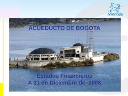 Dic-2008 - Acueducto de Bogotá