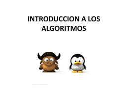 INTRODUCCION A LOS ALGORITMOS (2)