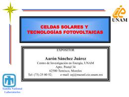 Celdas&Modulos&pres4 - Proyecto de Energía Renovable
