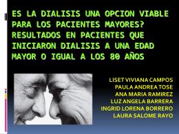 ESTUDIO DE DIALISIS