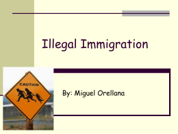 Illegal Imigration - TOK