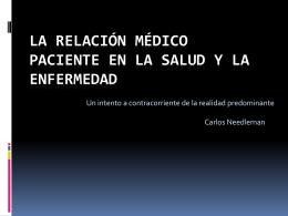 Prof. Dr. Carlos Needleman