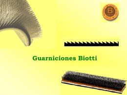 Guarniciones Biotti