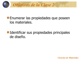 Ciencias de Materiales