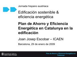 Plan de Ahorro y Eficiencia Energética en