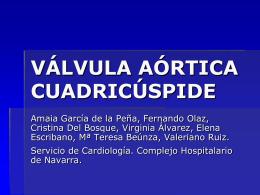 Válvula aórtica cuadricúspide