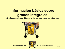 de granos integrales - The Whole Grains Council
