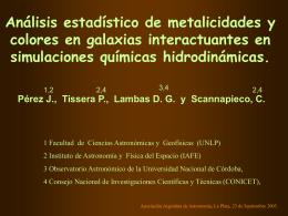 chemical GADGET-2 - Instituto Argentino de Radioastronomía