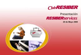 RESIBERservices - Iberia Web Sistemas