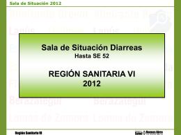 Sala diarrea SE 52 ultima 2012