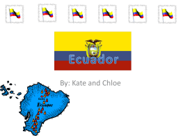 La capital e Ecuador es Quito!