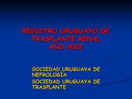 direcciones clinicas en trasplante (2002)