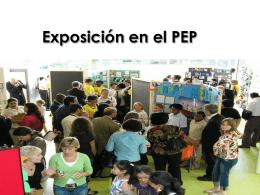Exposición en el PEP