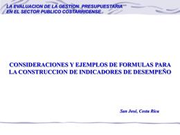 EJEMPLOS DE CONSTRUCCION DE INDICADORES