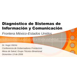 Diagnóstico de Sistemas de Información y Comunicación