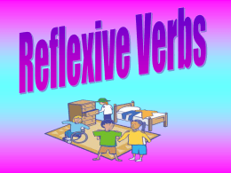 Spa II reflexive verbs jr