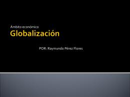 Globalización - FHS-FCE-002