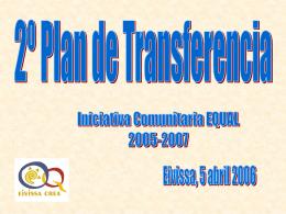 2º Plan de Transferencia