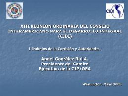 Comisión Interamericana de Puertos.
