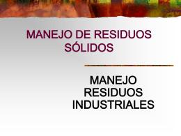 RESIDUOS SOLIDOS 2