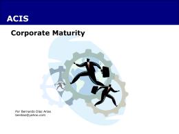 Corporate Maturity 1.1