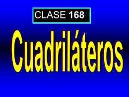 Clase 168: Cuadriláteros