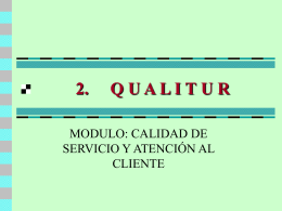 2. QUALITUR