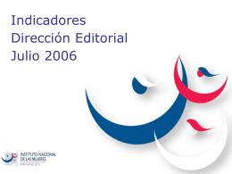 Indicador 1. Cumplimiento del programa anual de publicaciones a
