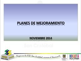 Presentaciones PM III TRIM 2014