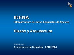 IDENA - PCyP SITNA - Gobierno de Navarra