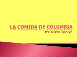 comida de colombia