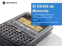 Presentación del ES400 para Clientes