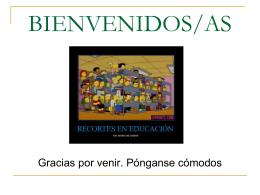 La enseñanza – aprendizaje del español como - UPO 2015