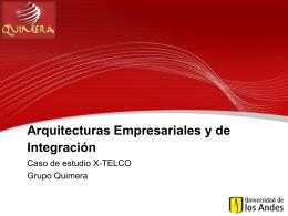 Arquitecturas Empresariales y de Integración