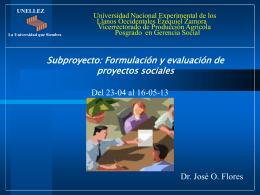 Guia I - Dr. José Ovidio Flores